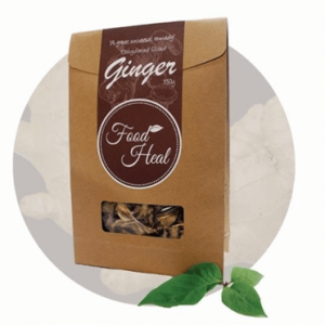 Food Heal Organic Tea Ginger 有機老薑養生茶
