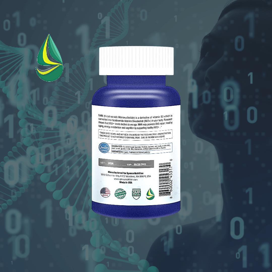 美國雲杉 SPRUCE NMN9000 基因修復複方膠囊 manufactured